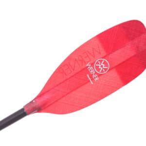 Werner Powerhouse Fiberglass Straight Shaft One‑Piece Whitewater Paddle